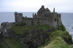 Dunluce Castle, Portrush, County Antrim