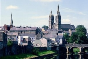 Omagh Town - County Tyrone Ireland