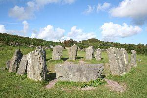 Drombeg Stone Circle -County Cork Ireland