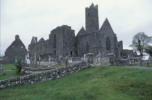 Quin Abbey - County Clare Ireland