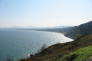 Wicklow Mountains and Dublin Bay