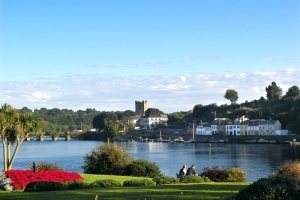 Killaloe, Co. Clare, on a sunny day